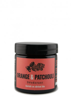 Déodorant stick orange & patchouli